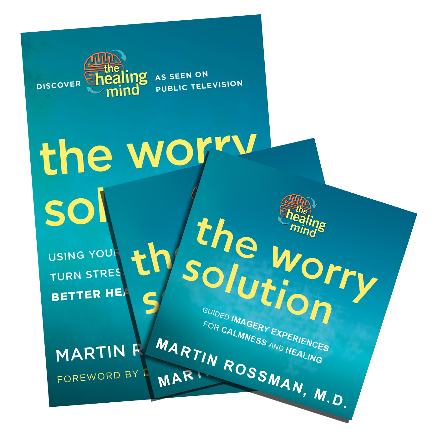 The Worry Solution Book and 2 CD Set